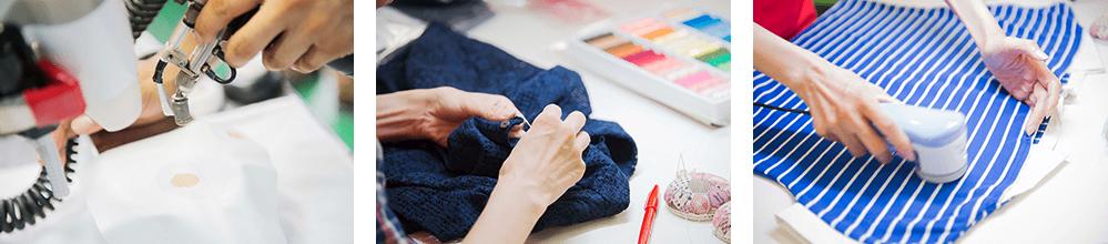 エアークロゼットの徹底したブランド服のメンテナンス方法